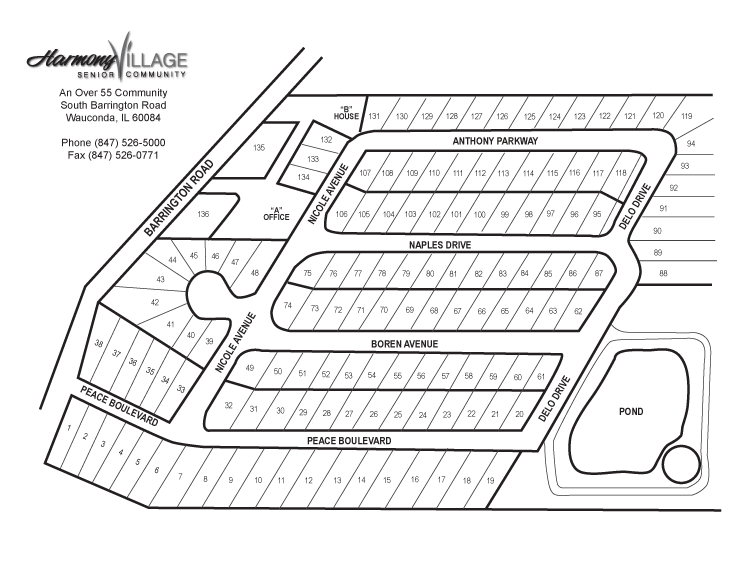 Harmony Village Site Plan